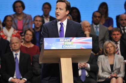 Big event: 2009 Tory conference