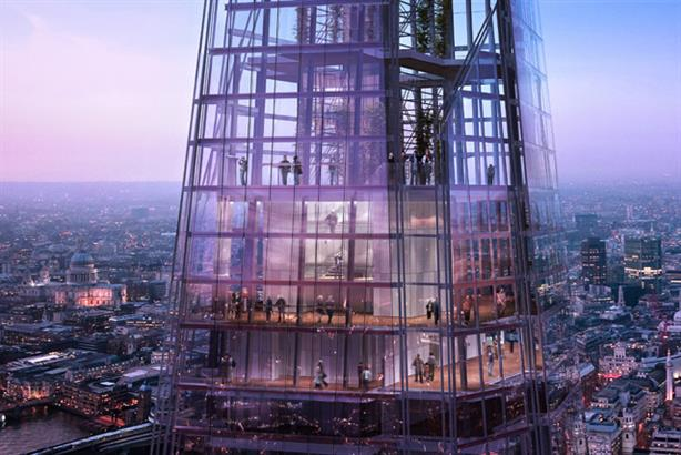 The Shard: is the tallest building in Western Europe