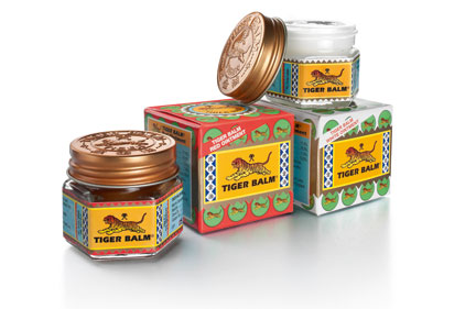 Pain remedy: Tiger Balm sold in more than 100 countries