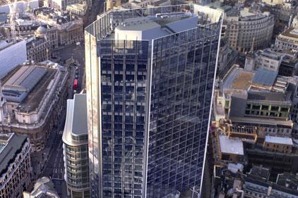 City presence: DTZ's London headquarters
