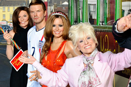 Launching in the spring: Madame Tussauds Blackpool