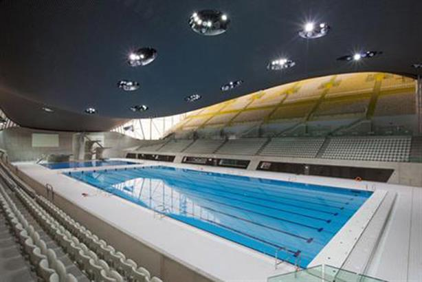 Olympic facility: The Aquatics Centre was built by Balfour Beatty
