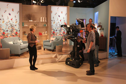 On set: New teatime show Fern
