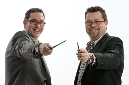 Launching Dynamo: Peter Bowles and Paul Cockerton