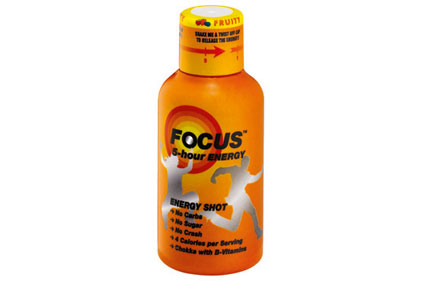 Energy drink: Focus