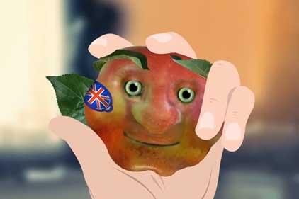 Tony Robinson: voice of the British apple