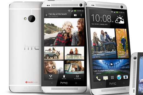 Flagship handset: HTC One