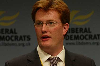 Treasury chief secretary: Danny Alexander