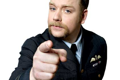 Rufus Hound: presented the awards
