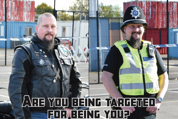 PC Nick Reeve: one of the faces of Leicestershire Police and Lincolnshire Police's #BehindTheUniform campaign