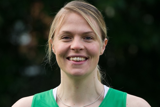 Olympic rower Anna Watkins: ran the London Marathon for Macmillan
