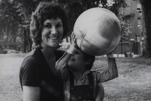 Shirley Nolan: With her son Anthony, for whom she set up the charity in 1974