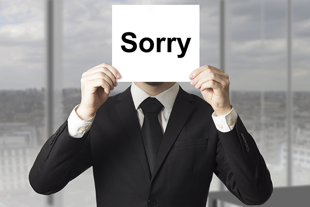 The 'Apology Clause' campaign aims to make it easier for businesses to behave with compassion when things go wrong (©ThinkstockPhotos)