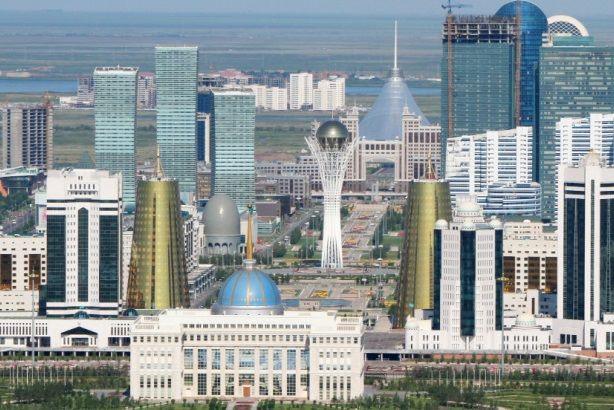 Astana, the capital of Kazakhstan