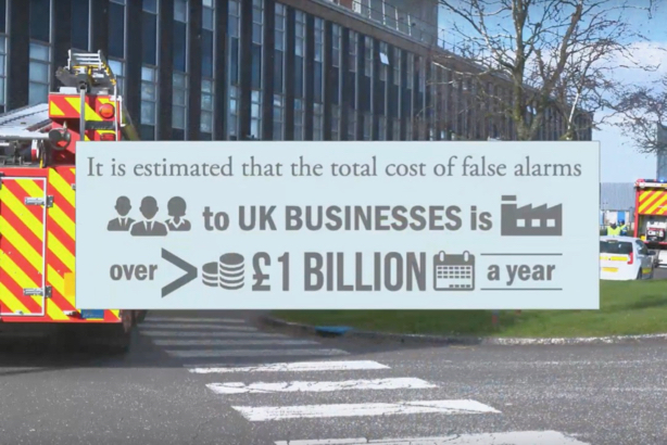 Avon Fire & Rescue Service: YouTube video warns that false alarms cost businesses £1bn a year