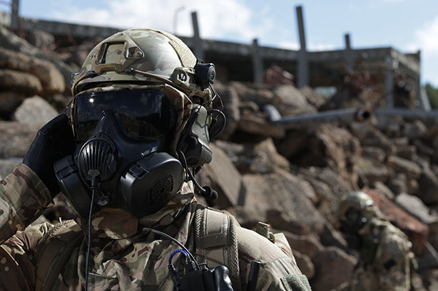 Avon Rubber produces gas masks to militaries