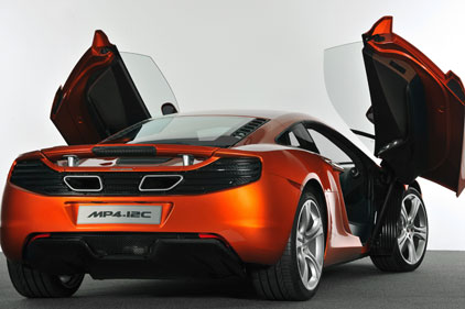 Fast car: McLaren's MP4-12C launch part of brief