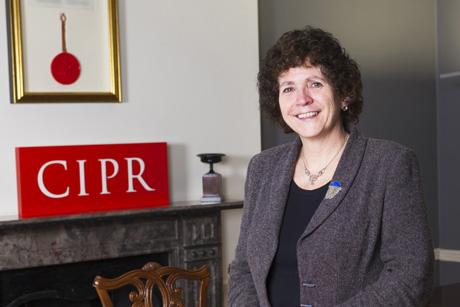 High standards: Sue Wolstenholme