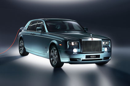 Rolls-Royce: new Phantom electric car