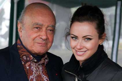 Mohamed and Camilla Al-Fayed: charitable work