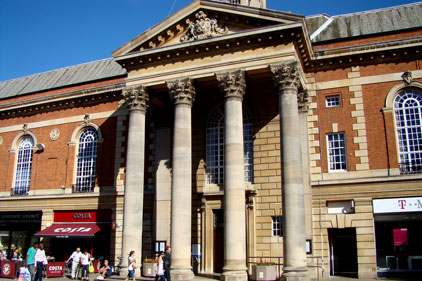 Peterborough town hall: new comms leader
