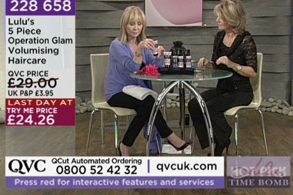 Pitch: shopping channel QVC