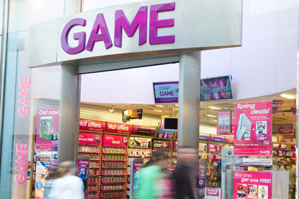 Top retailer: Game