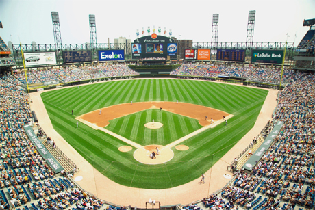 Chicago White Sox at US Cellular Field (Credit: City of Chicago/Chris McGuire)
