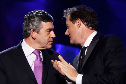 Interview: Gordon Brown and Piers Morgan