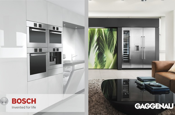 From Bosch and Gaggenau promotional materials