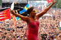 Dame Shirley: performed at Glastonbury