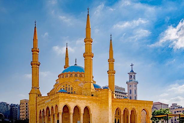 Netizency has opened doors in Beirut, home of the Mohammad Al-Amin Mosque.