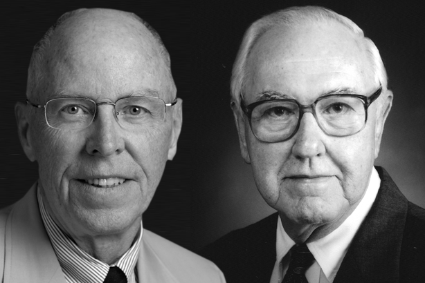 Ward White and Ed Block: two legends of the PR industry
