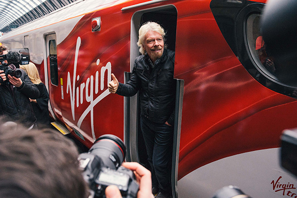 Branson claims he wasn't aware of Virgin Trains' decision until last week's reports (©virgintrains.co.uk)