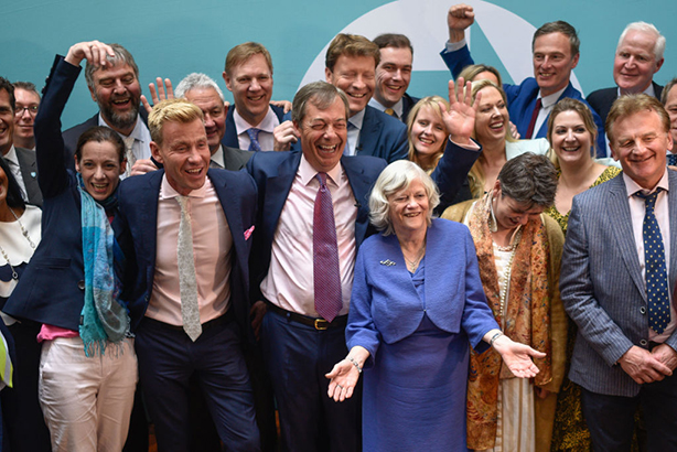 The Brexit Party won 29 seats in the Euro elections in May (©Peter Summers, GettyImages)