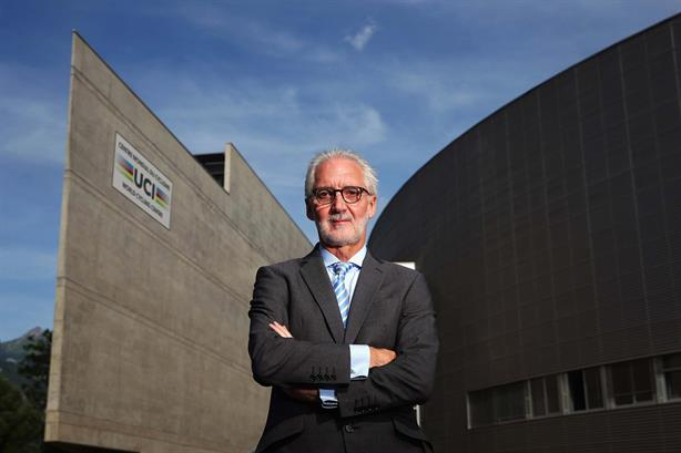 UCI president Brian Cookson seeks second term to help clean up pro cycling