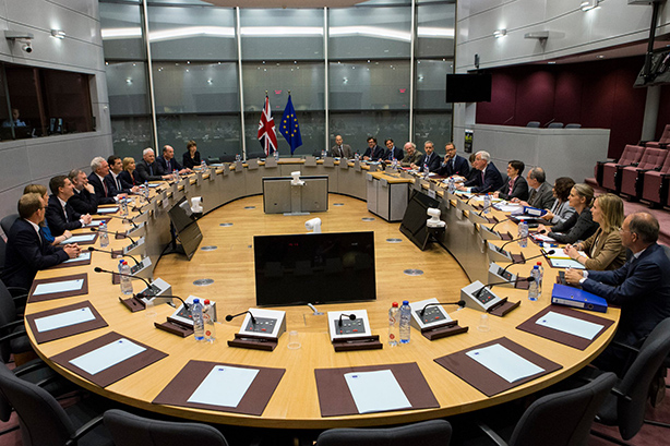 The UK is bolstering its team for EU negotiations in Brussels (image via @ukineu on Twitter)