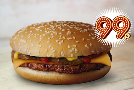 Burger King: home of the 99p cheeseburger
