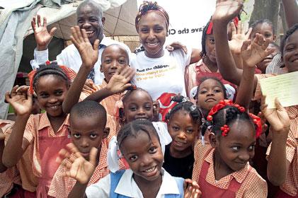 Supporting Save The Children: Alexandra Burke
