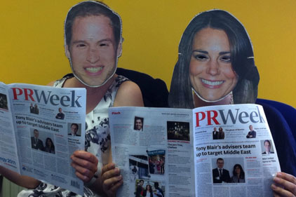 Avid readers: Will and Kate