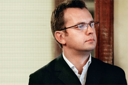 Leaving Downing Street: Andy Coulson