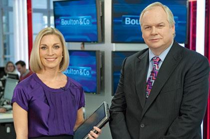 Boulton & Co blog has become a TV show: Sarah Hughes and Adam Boulton