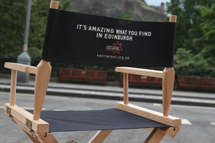 Action: Burt Greener to promote Edinburgh International Film Festival