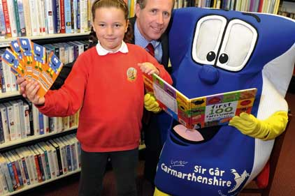 Best campaign 10k and under: Carmarthenshire County Libraries