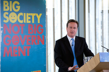 Baffling: David Cameron's Big Society