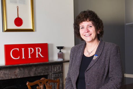 Sue Wolstenholme: CIPR president (Credit: Alex Deverill)