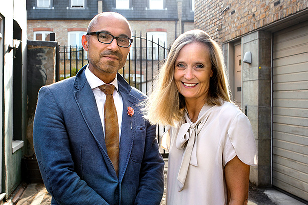 MMGY Global president & COO Chris Campos and Grifco founder & MD Claire Griffin