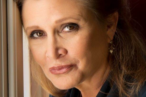 Carrie Fisher passed away Tuesday aged 60, after suffering a heart attack last Friday. Image taken from Wikimedia Commons. Photographer: Riccardo Ghilardi