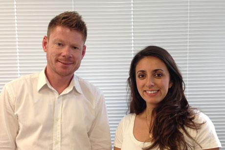Teamwork: Champollion Political's Gavin Hayes and Kat Santos