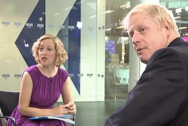 Boris: Reassuring that he calls them 'spin doctors' too